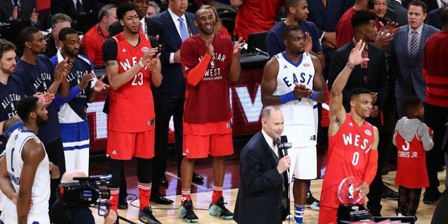 Kobe Bryant Cetak 10 Poin pada Laga NBA All-Star Terakhirnya