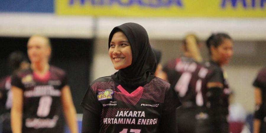 Target Nandita Ayu Salsabila bersama Timnas Bola Voli Indonesia