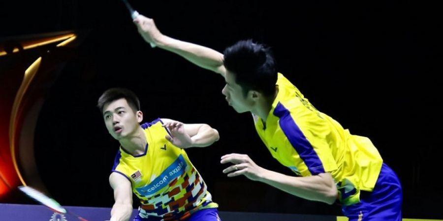 Goh V Shem/Tan Wee Kiong Persembahkan Kemenangan Pertamas Kali atas Ahsan/Hendra untuk Pelatih asal Indonesia