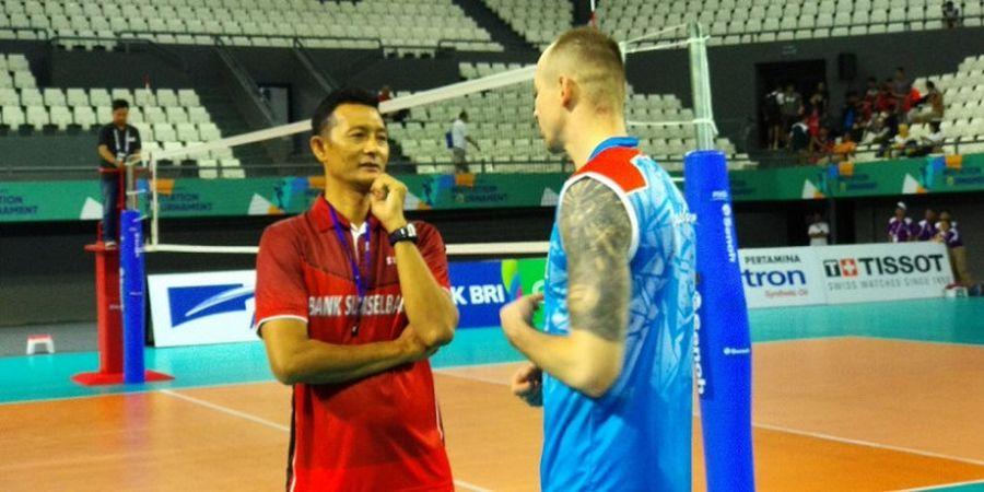 Perjalanan dari Wisma Atlet ke GBK Juga Dikeluhkan Pelatih Timnas Voli Indonesia