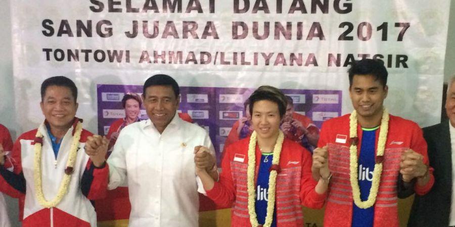 Wow! Sah Jadi Nomor 1 Dunia, Tontowi Ahmad/Liliyana Natsir Dapat Ucapan Selamat dari Orang Penting di Indonesia
