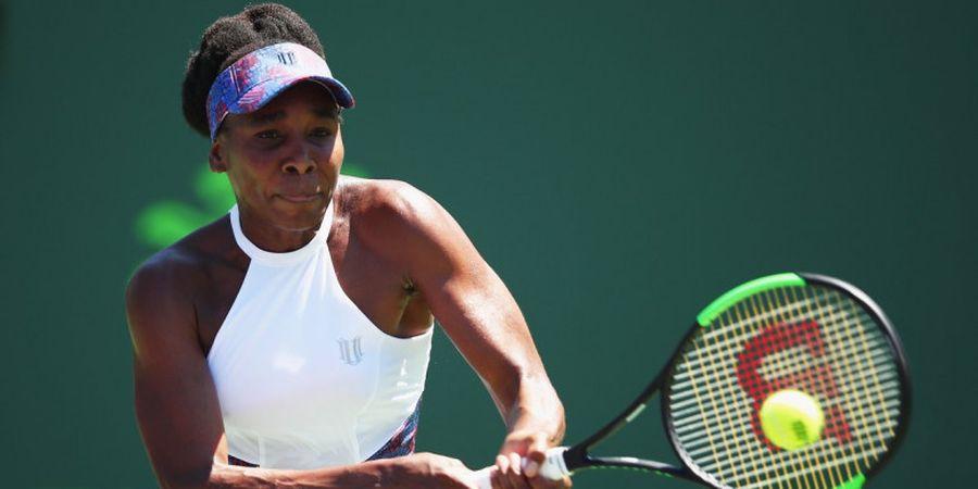 Miami Open 2018 - Venus Williams Sukses Singkirkan Sang Juara Bertahan