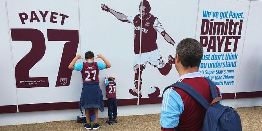 West Ham Terima Tukar Tambah Jersey Dimitri Payet