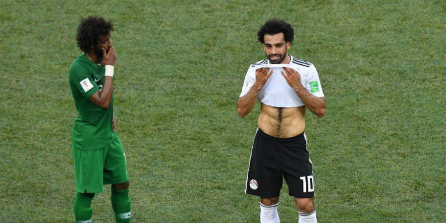 Tak Berselebrasi Saat Cetak Gol, Mohamed Salah Kirim Sinyal Pensiun?