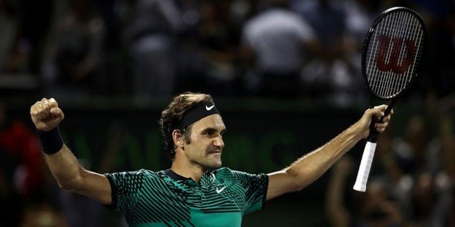 Hasil Lengkap Babak Perempat Final Rogers Cup, Federer Tatap Gelar ke-27