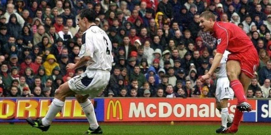 Sejarah 31 Maret: Pada 2001, Gol Pertama Gerrard Melawan Manchester United
