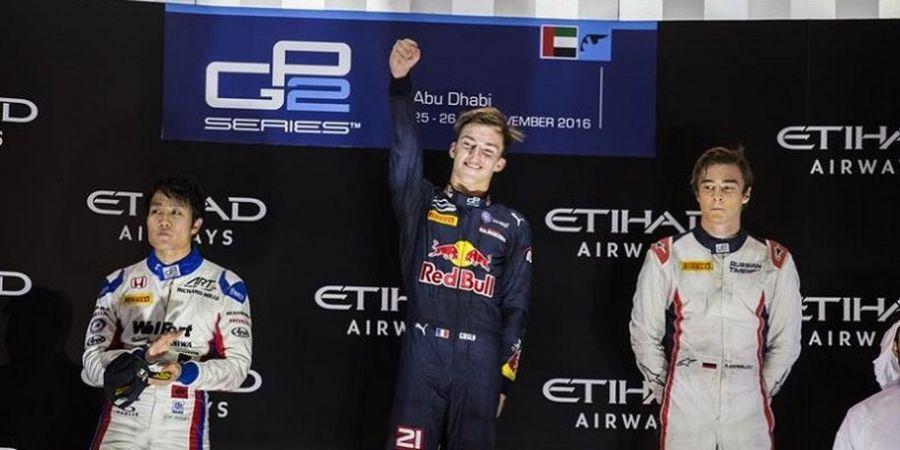 Pierre Gasly Jadi Juara Umum GP2 Series 2016
