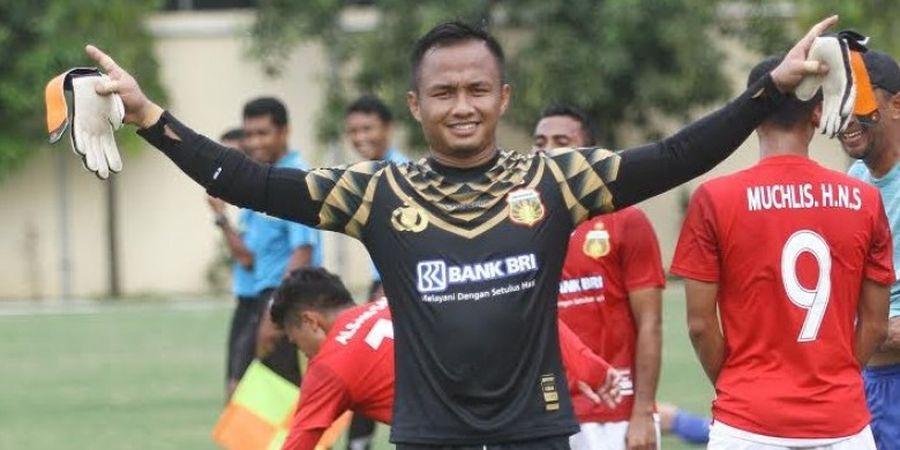 Sempat Pesimistis Liga 1 Dilanjutkan, Kiper Bhayangkara FC Miliki Target Tersendiri