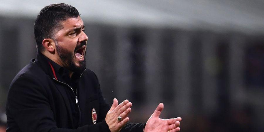 Kalah Argumen dengan Gennaro Gattuso, Pemain AS Roma Mengadu ke Wasit