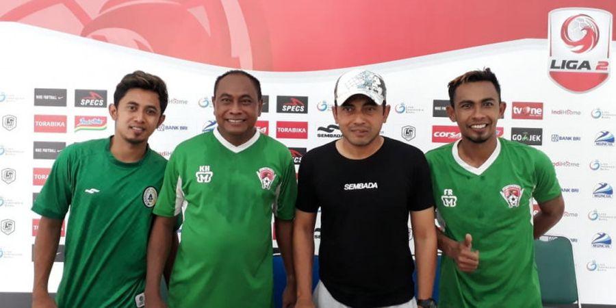 Tak Ada Persiapan Khusus dari PSS Sleman dan Kalteng Putra Jelang Leg Kedua Semifinal Liga 2 2018
