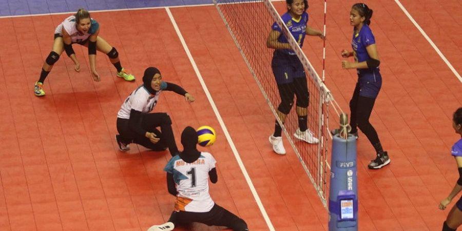 Proliga 2019 - Menang Lagi atas Bandung Bank BJB, Tim Putri Jakarta BNI Lolos Final Four