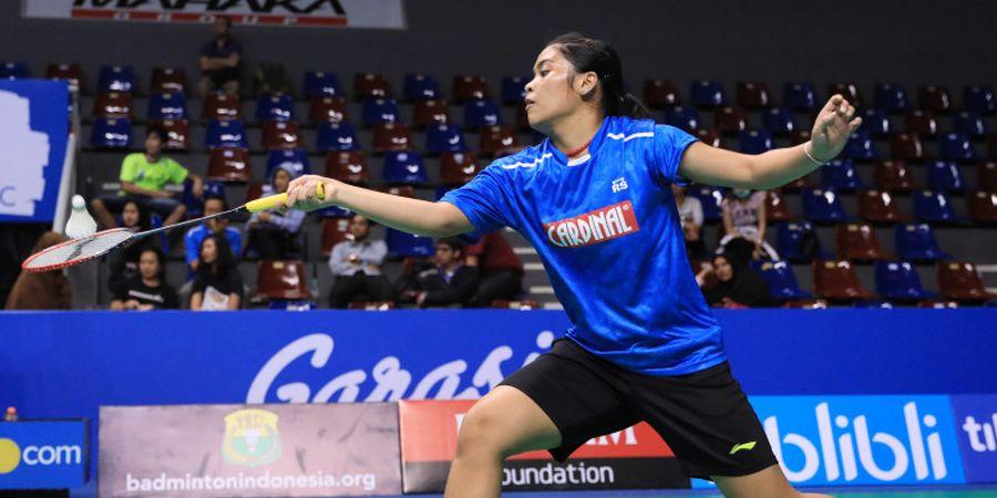 Laju Gregoria Terhenti pada Babak Kedua Indonesia Masters 2019