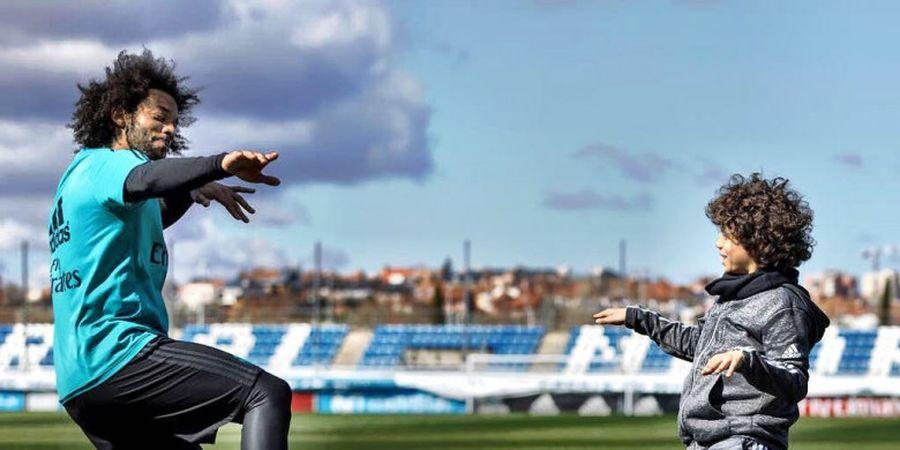Putra Marcelo Vieira Bikin Heboh Acara The Best FIFA Football Awards 2018