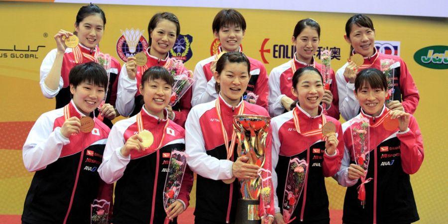 Hasil Kejuaraan Beregu Asia 2020 - Tim Putri Jepang Selangkah Lagi Ukir Gelar