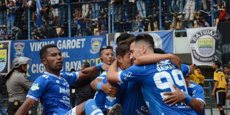 Peluang Persib Juara Liga 1 Berdasarkan Rasio 12 Laga Tandang