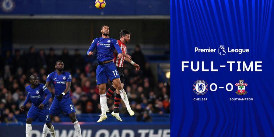 Chelsea Vs Southampton - The Blues Ditahan Imbang Tanpa Gol
