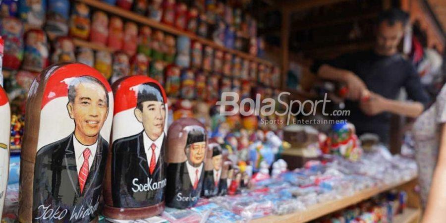 Saat Soekarno, Jokowi, dan Ahok Berdampingan di Moskow