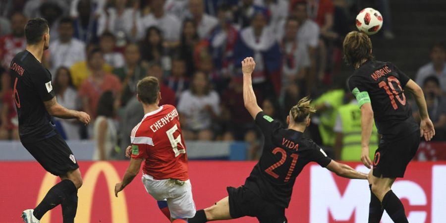 VIDEO - Gol Spektakuler Mantan Pemain Real Madrid Bikin Kiper Kroasia Melongo