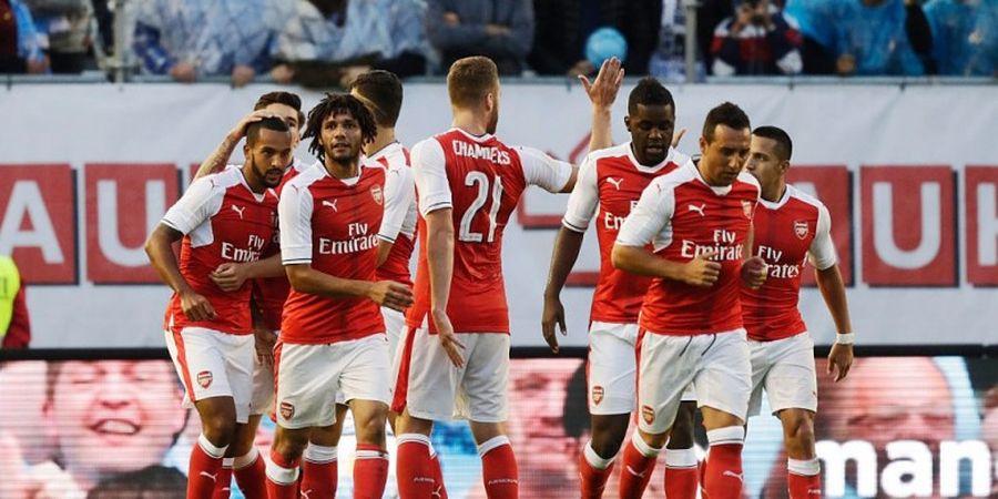 Cetak 17 Gol, Arsenal Paten dengan Satu Formasi