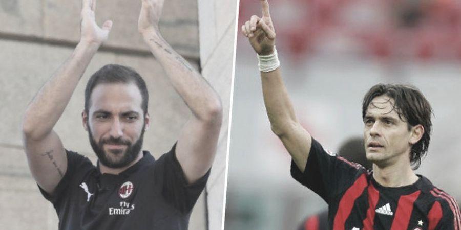 Gonzalo Higuain Punya Tugas Berat Selepas AC Milan Ditinggal Filippo Inzaghi