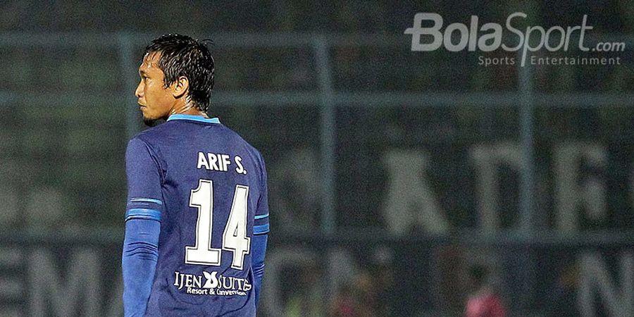 Arema FC Konfirmasi Hengkangnya Arif Suyono