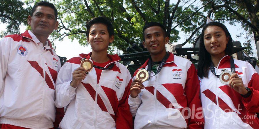 Ketika Para Peraih Medali Emas SEA Games Diarak Pakai Baracuda