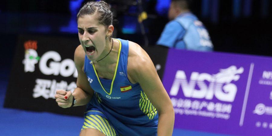 Carolina Marin Dedikasikan Gelar Juara Dunia 2018 untuk Rakyat Spanyol
