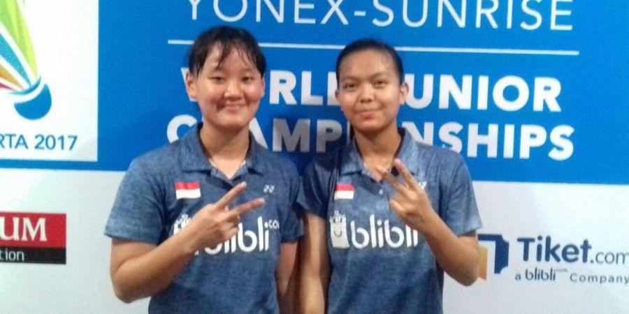 Pasangan Junior Genapi Wakil Ganda Putri Indonesia pada Thailand Masters 2018