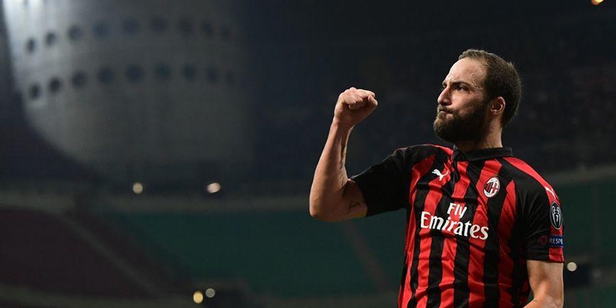 Gonzalo Higuain Bisa Jadi Jawaban atas Dahaga Striker Tajam AC Milan