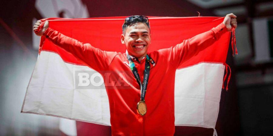 Eko Yuli Raih 3 Emas pada Kejuaraan Angkat Besi Internasional di Iran