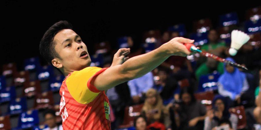 Malaysia Masters 2019 - Anthony Ginting Mengaku Masih Menyesuikan Diri dengan Kondisi Angin