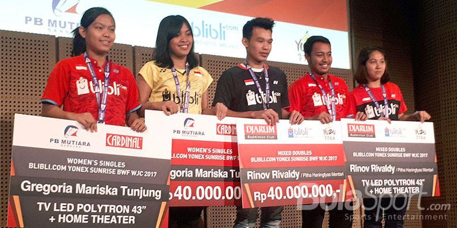 Pebulu Tangkis Muda Indonesia Jangan Cepat Puas