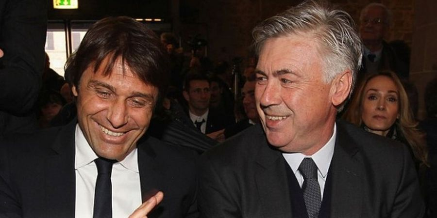 Ancelotti Beri Tips untuk Antonio Conte agar Tidak Dipecat
