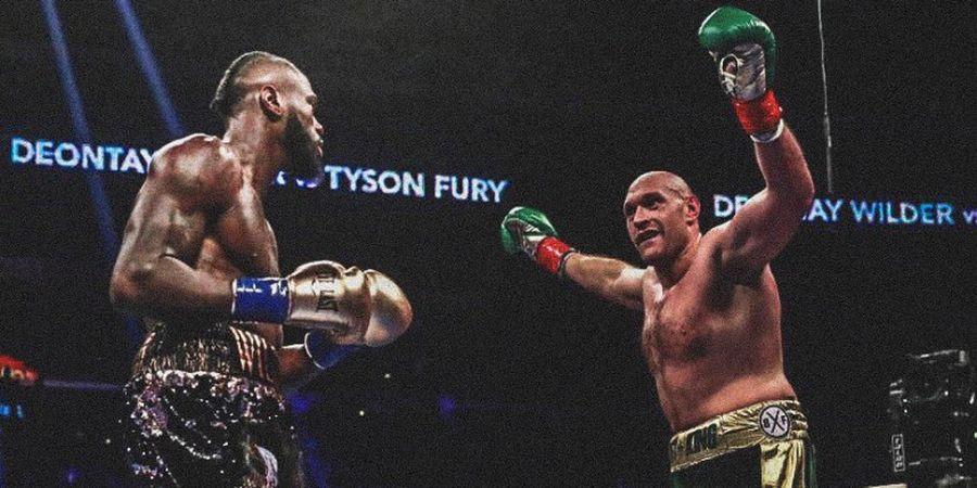 Duel Ulang Deontay Wilder Vs Tyson Fury Resmi Ditangguhkan WBC