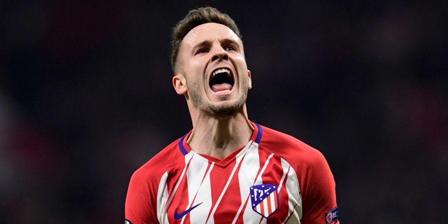 Liga Champions - Saul Niguez Sebut Atletico Madrid Siap Rusak Rekor Borussia Dortmund