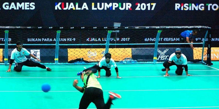 Goal Ball Putra Indonesia Kalahkan Laos pada Hari pertama ASEAN Para Games 2017