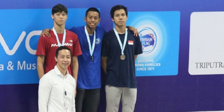 Indonesia Open Aquatic Championship 2018 - Aflah Fadlan Prawira Sumbang 2 Emas