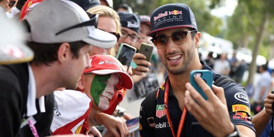 Kena Penalti, Posisi Start Daniel Ricciardo Mundur 5 Setrip