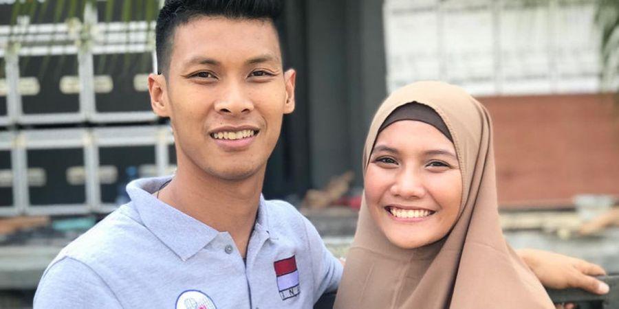Sang Suami Cedera di Piala Lienvietpostbank 2018, Begini Reaksi So Sweet Nandita Ayu