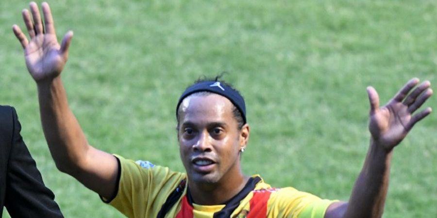 Ronaldinho Akan Merumput dan Lakukan Coaching Clinic di Stadion Gelora Sriwijaya Jakabaring