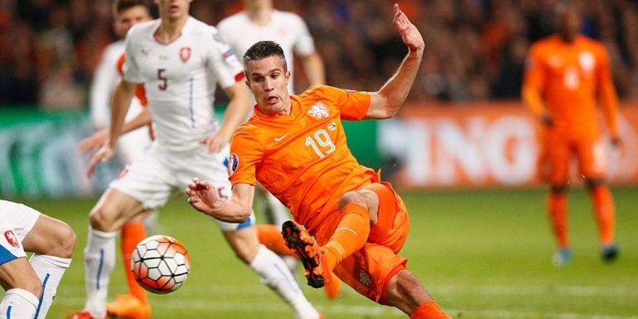 Van Persie Kembali Tersingkir dari Skuat Belanda