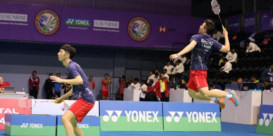 Gagal di Indonesia Masters 2020, Ganda Putra China Bilang Begini ke Fajar Alfian