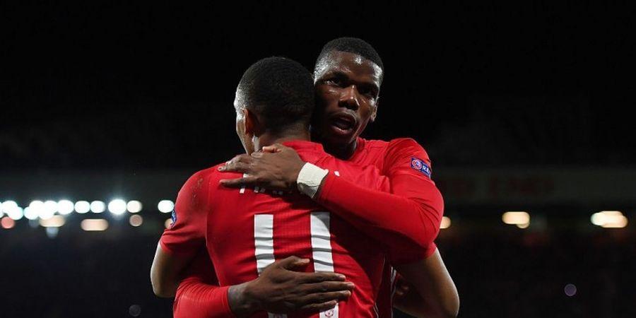Dua Penalti Warnai Pesta Gol Man United atas Fenerbahce