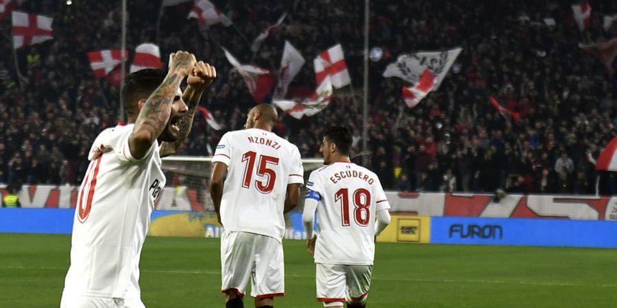 Hasil Sevilla Vs Atletico Madrid - Diego Simeone Walk Out, Los Rojiblancos Gugur dari Copa del rey