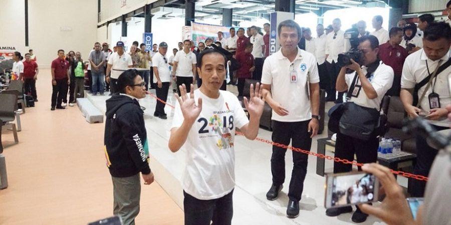 Presiden Jokowi Kunjungi 5 Venue Asian Games 2018 di Jakabaring