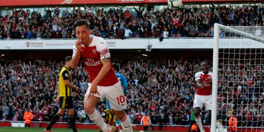 Sebelum di Arsenal, Mesut Oezil Sudah Lahir sebagai Seorang Juara