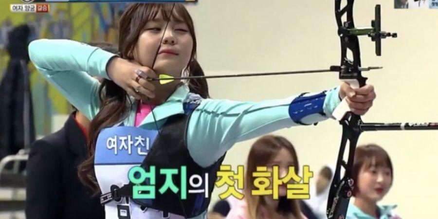 7 Seleb Korea Ini Cocok Jadi Atlet Cabang Olahraga Panah