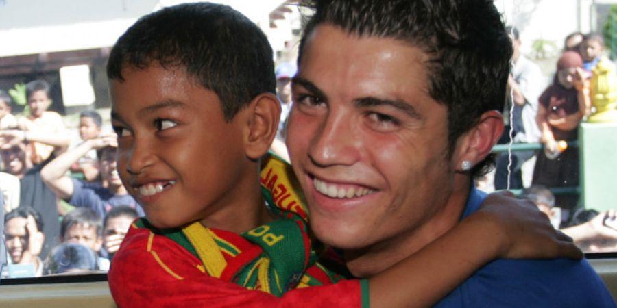 Martunis Kaget Sang Ayah Angkat Cristiano Ronaldo Positif COVID-19