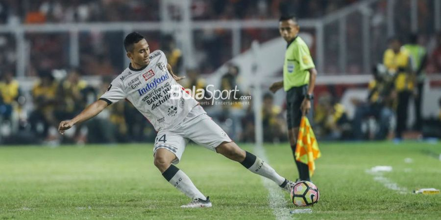 Bek Bali United Waspadai Satu Pemain Persija Jakarta