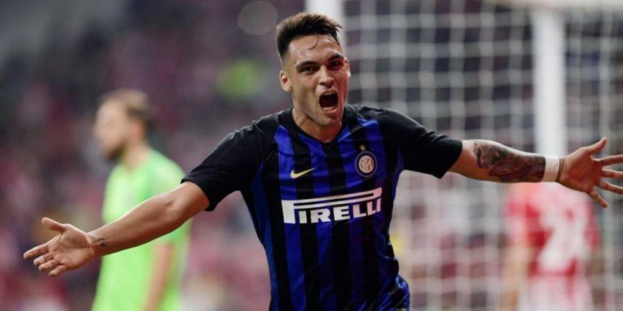 Hasil ICC 2018 - Tendangan Kungfu Lautaro Martinez Bawa Inter Milan Tekuk Atletico Madrid